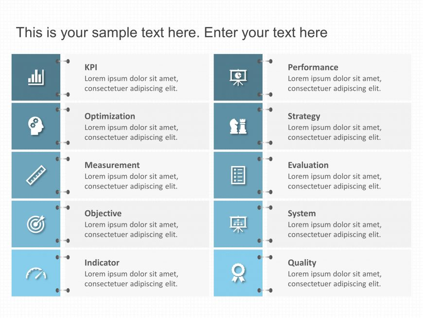 KPI List Template