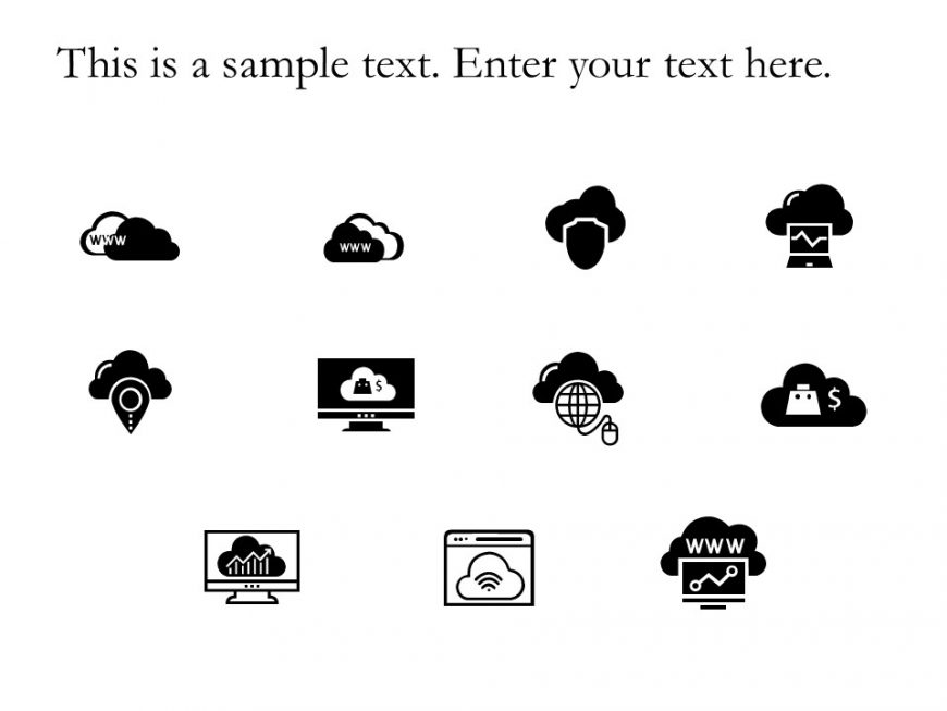 Cloud Powerpoint Icons