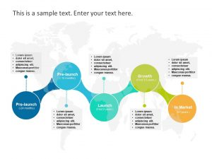 Product Launch 5 Steps Template