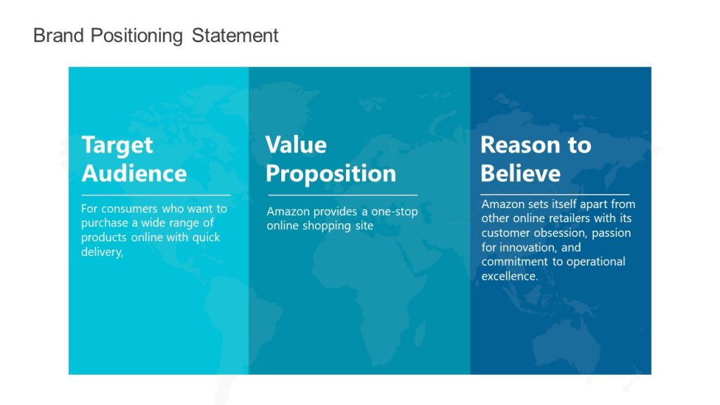 Positioning Statement Template