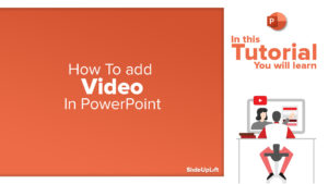 How To Add Video in a PPT | PowerPoint Tutorial