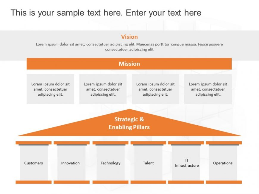 Project Vision Powerpoint Template