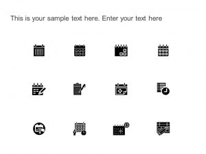 Calendar & Scheduling Icons