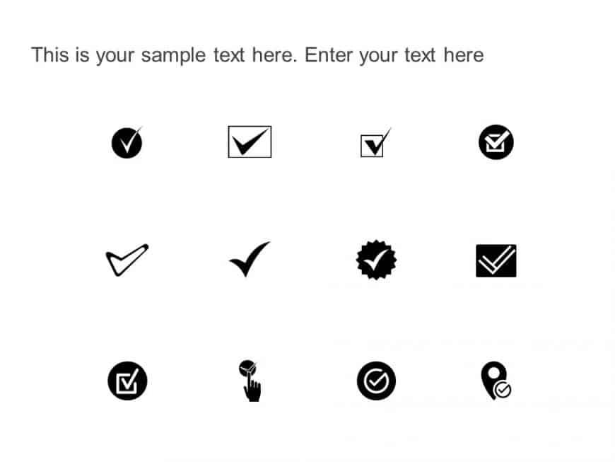 Checkmark Icons
