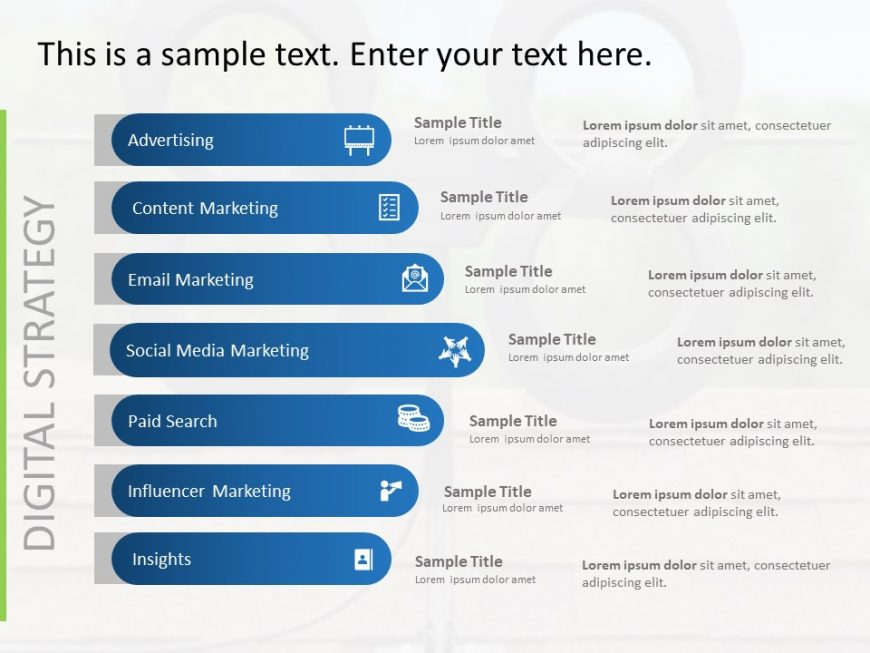Digital Marketing Strategy List