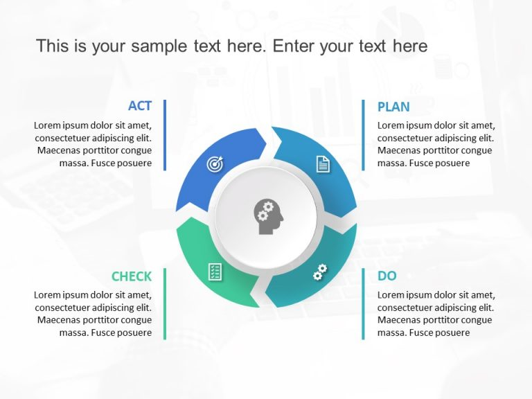 Plan Do Check Act PDCA PowerPoint Template