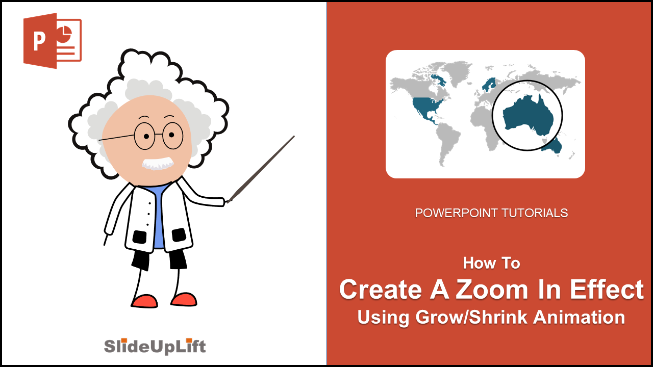 Create A Stunning Zoom In Effect Using Grow/Shrink PowerPoint Animation | Grow/Shrink Animation