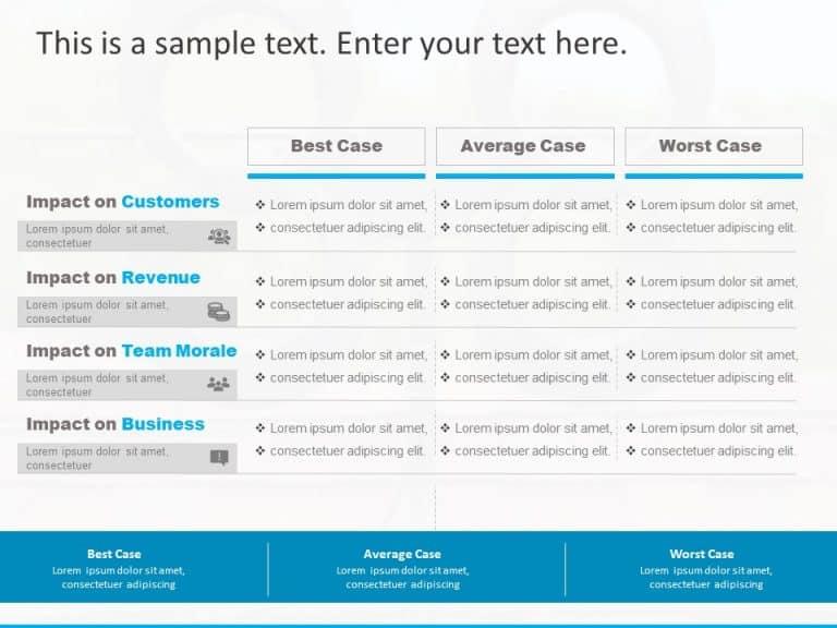Project Scenarios PowerPoint Template