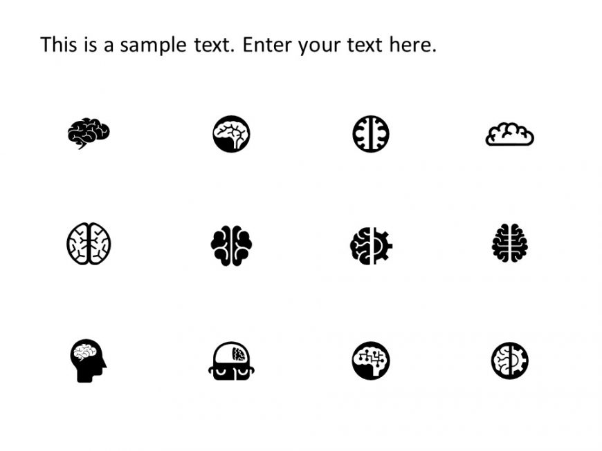 Brain PowerPoint Icons