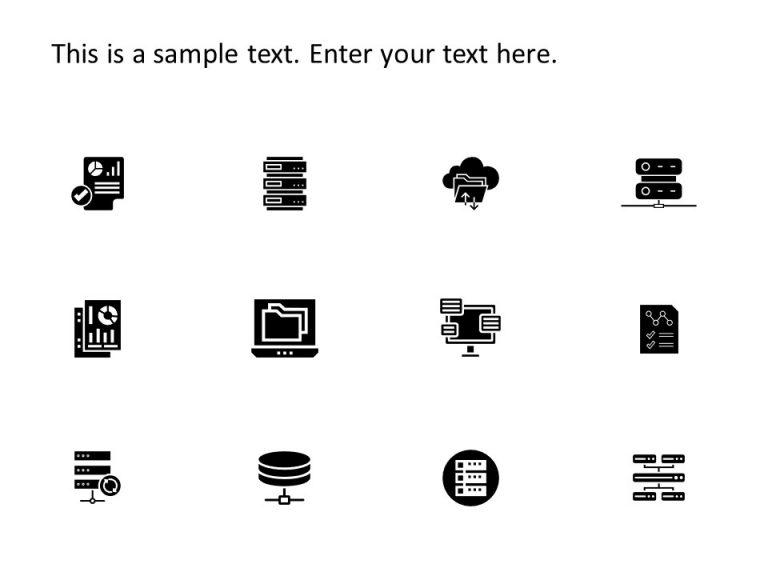 Data PowerPoint Icons
