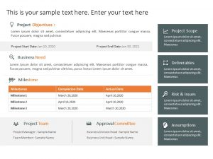 Project Charter Template for Project Managers