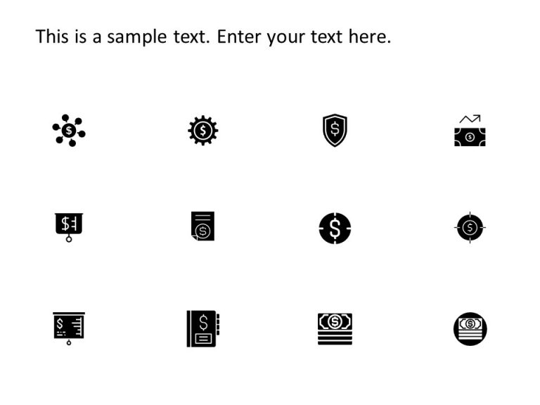 Financial PowerPoint Icons