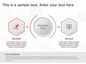 Action and Result Template for PowerPoint
