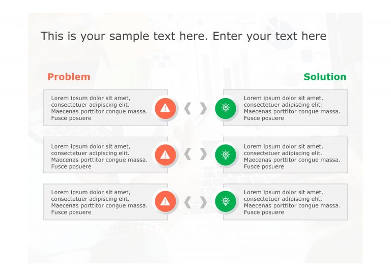 Problem Solution PowerPoint Template 4