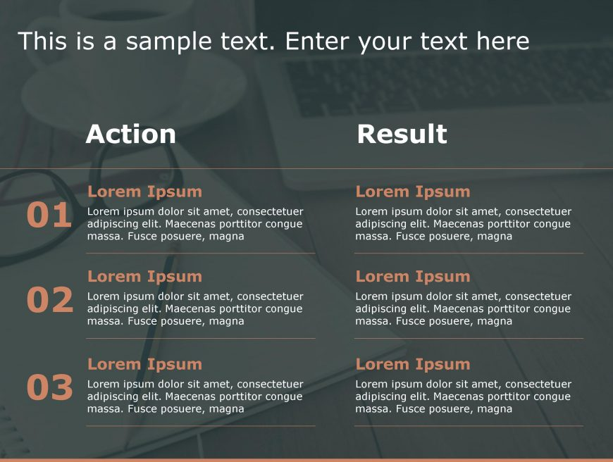 Action Result PowerPoint Template 12