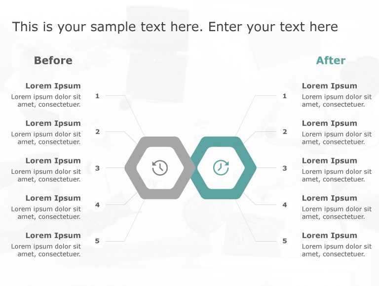Before After PowerPoint Template 24