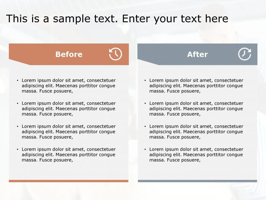 Before After PowerPoint Template 25