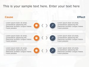 Cause Effect PowerPoint Template 28