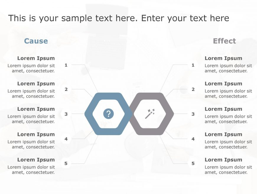 Cause Effect PowerPoint Template 29