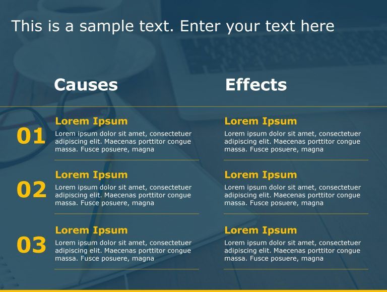 Cause Effect PowerPoint Template 33