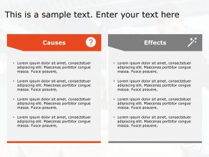 Cause Effect PowerPoint Template 34