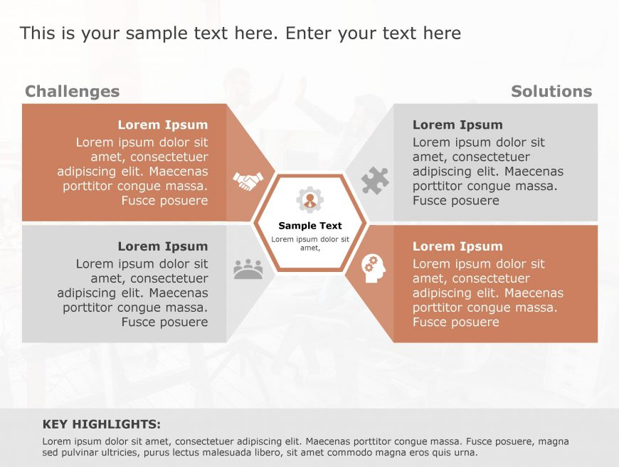 Challenge Solution PowerPoint Template 35
