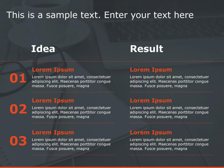 Idea Result PowerPoint Template 79