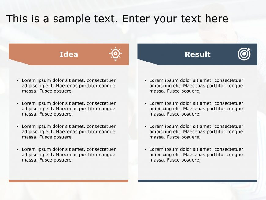 Idea Result PowerPoint Template 83