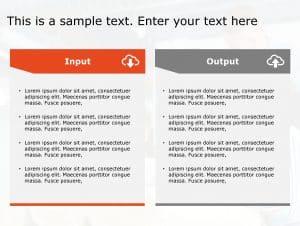 Input Output PowerPoint Template 93