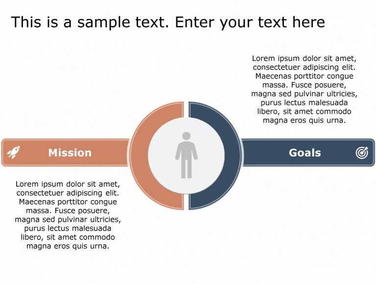 Mission Goals PowerPoint Template 113