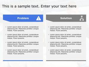 Problem Solution PowerPoint Template 142