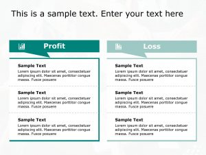 Profit Loss PowerPoint Template 147