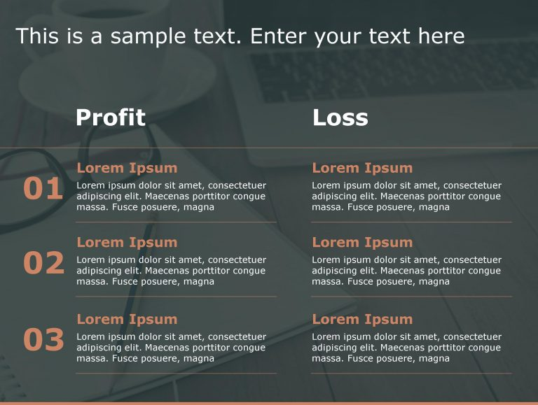 Profit Loss PowerPoint Template 148