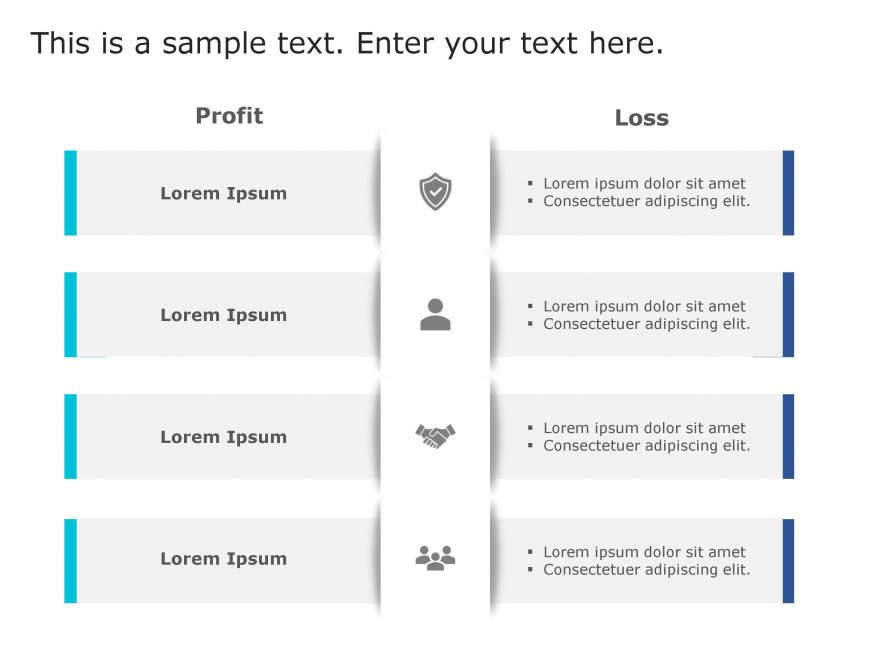 Profit Loss PowerPoint Template 149