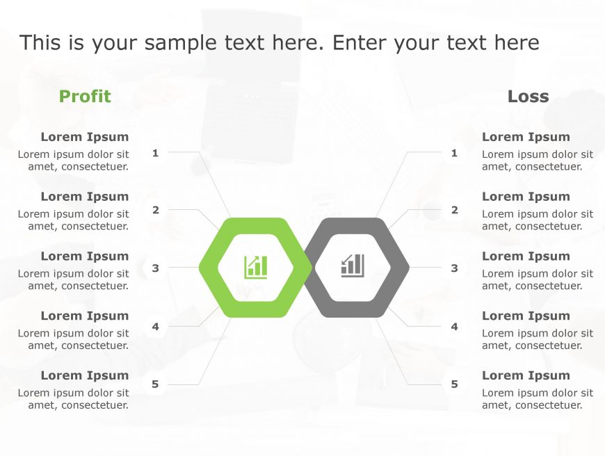 Profit Loss PowerPoint Template 151
