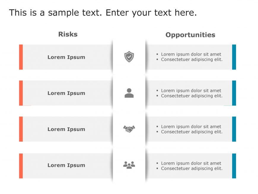 Risk Opportunity PowerPoint Template 176