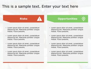 Risk Opportunity PowerPoint Template 177