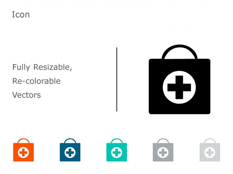 Medicine Infusion Bag PowerPoint Icon 01