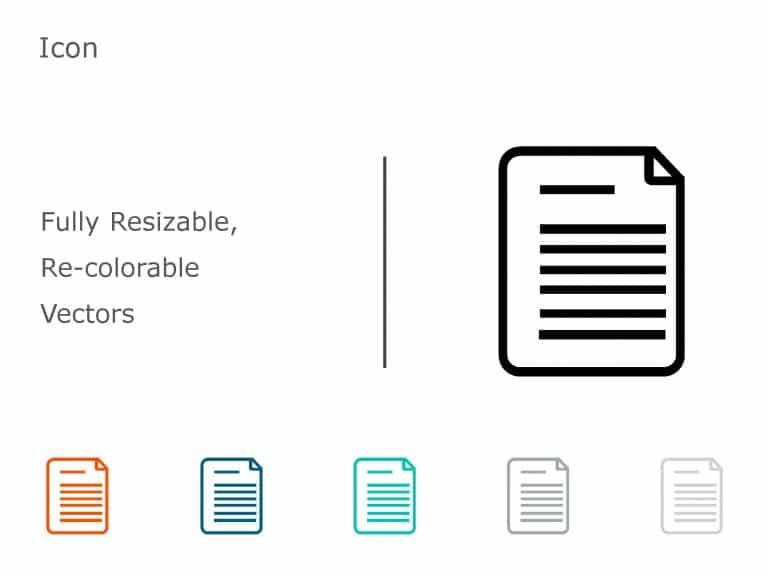Executive Summary PowerPoint Icon 02
