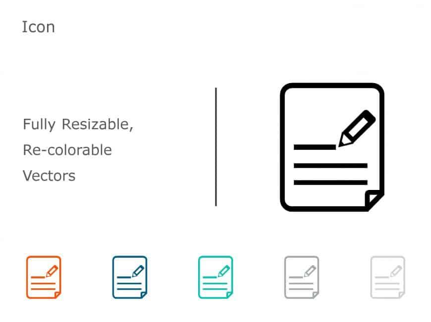 Executive Summary PowerPoint Icon 07