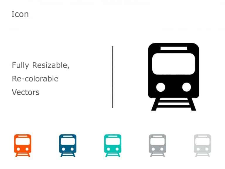 Transportation PowerPoint Icon 11