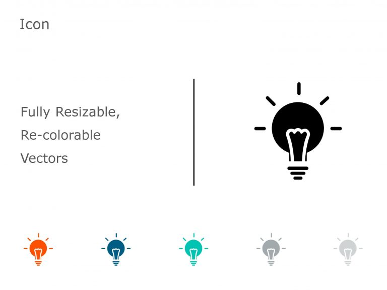 BULB PowerPoint Icon 05