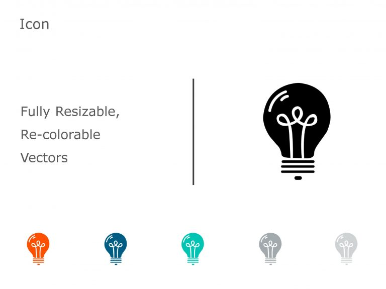 BULB PowerPoint Icon 12