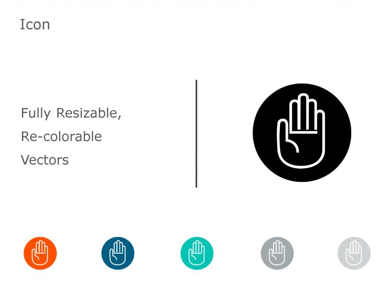 HAND PowerPoint Icon 04