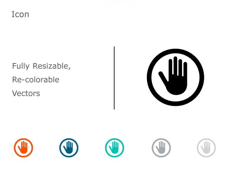 HAND PowerPoint Icon 07