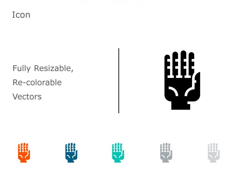 HAND PowerPoint Icon 10