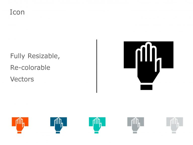 HAND PowerPoint Icon 11