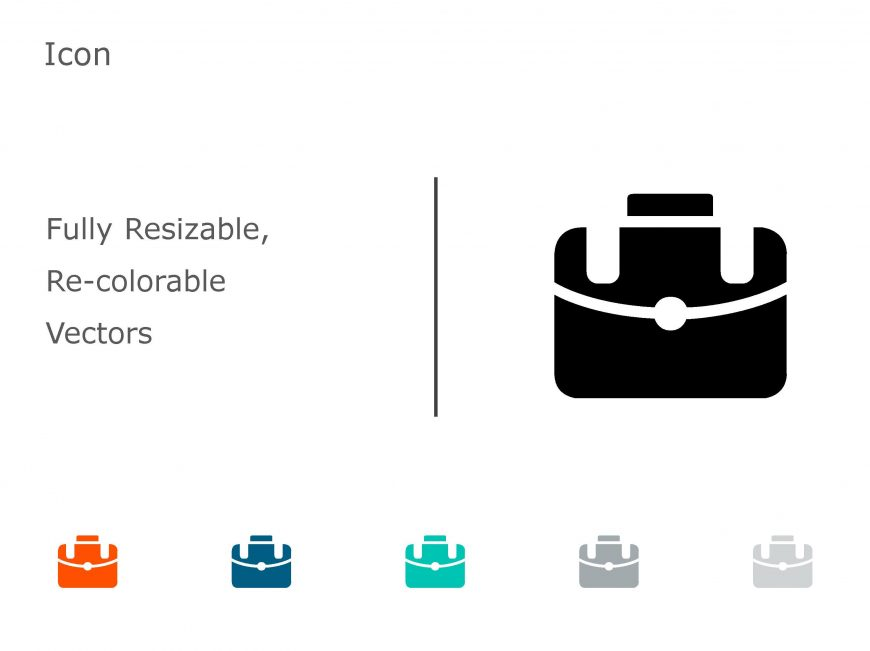 Briefcase Business PowerPoint Icon 06