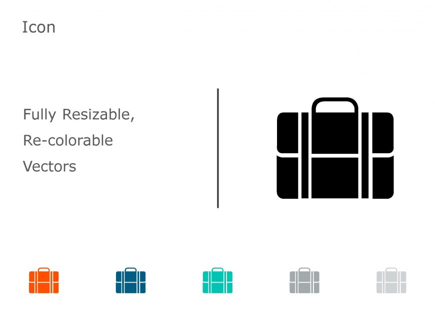 Briefcase Business PowerPoint Icon 07