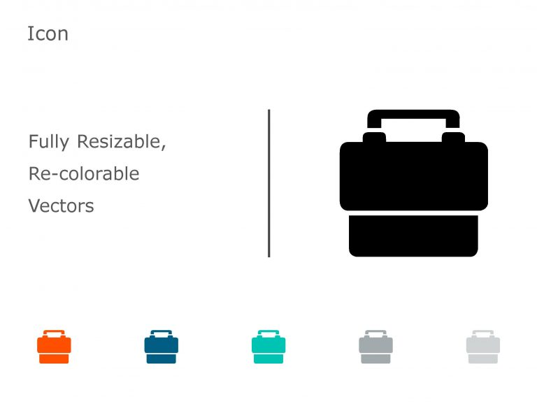 Briefcase Business PowerPoint Icon 09